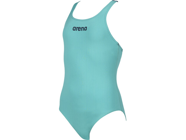 arena Solid Swim Pro Traje Baño Una Pieza Niñas, verde